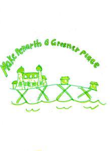 'Make Penarth a greener place' winning bag design