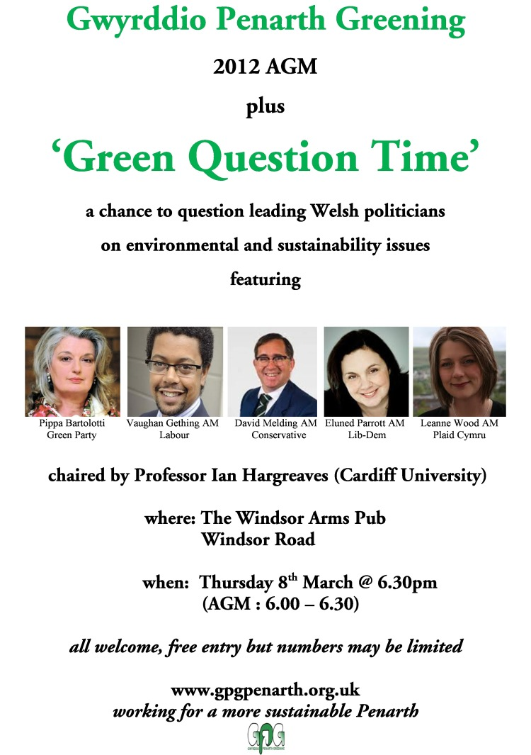 Green Question Time